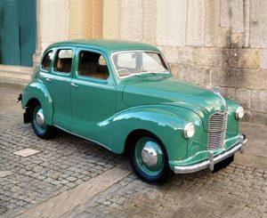1950s AustinA40 in original green